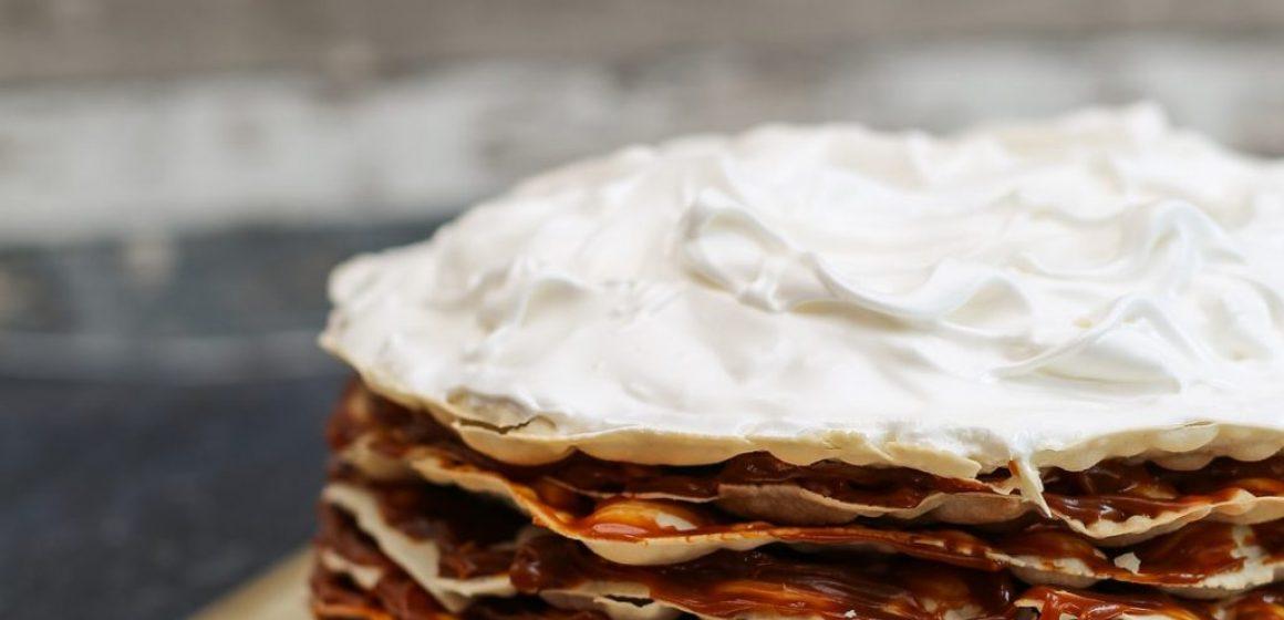 torta argentina mil hojas